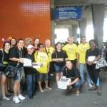 Mobilização de prevenção HIV/AIDS no carnaval na rodoferroviária Cuitiba