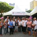 Dia Internacional da Mulher - abordagem na rua XV com outras entidades