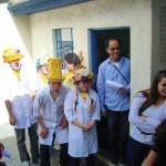 Festa do Dia da Criança com a presença dos Anjos da Enfermagem
